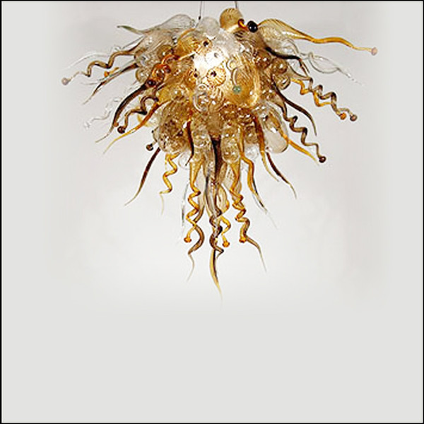 Amazing Decorative Chihuly Handmade Blown Glass Chandelier Lighting Turkish Style Mouth Blown Glass Chandelier Lightings Art Design