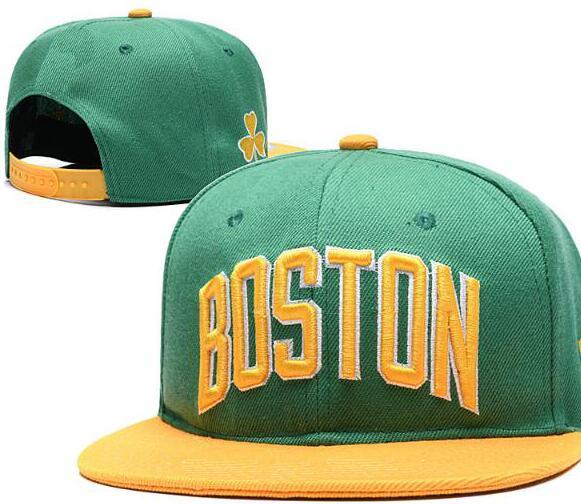 2019 Hats For Man Woman Snapbacks Baseball Hat snapback N Y Flat brim Cap strapback Embroidery Boston Cap BOS Tide Brand hat 03