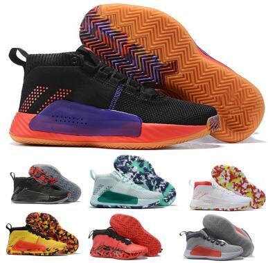 e34358856f0 Zapatillas de baloncesto Dame 5 2019 D Lillard para hombre Zapatillas 5s  Red Dyed Rip City