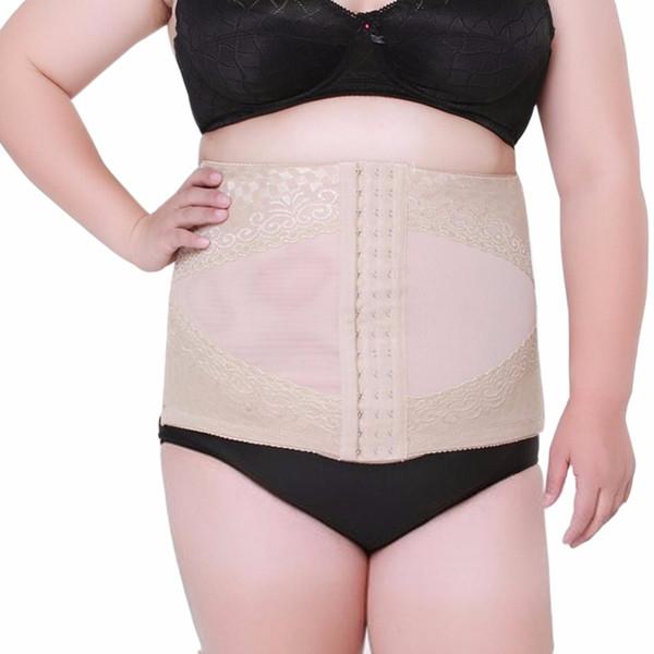 Big Plus Size Women's Belt Long Body Corset Belt Waist Trainer Cincher Control Steel Bone Hot Shapers Lingerie for slimming