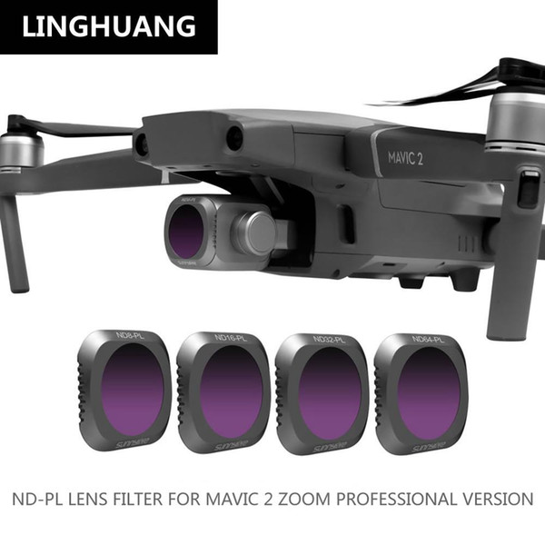 DJI Mavic 2 ND-PL Lens Protection Filter 4 Piece Set Combination MAVIC 2 PRO Professional Edition Accessories For RC Quadcopter