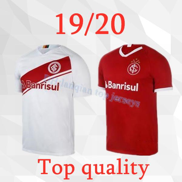 2020 Internacional HOME red soccer jersey Thai quality 19 20 Brazilian Internaciolub t shirt Brazil international Santos sports shirts