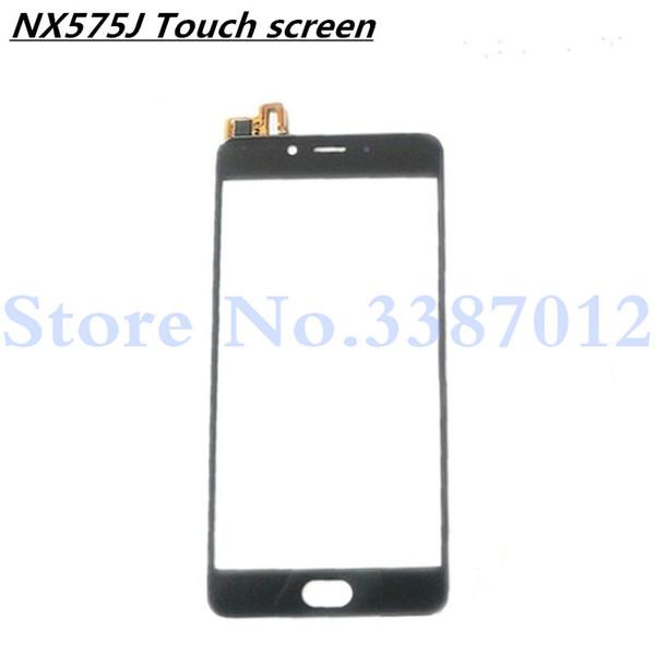 5.5 '' Sostituzione di alta qualità per ZTE Nubia N2 NX575J Touch Screen Digitizer Sensor Vetro esterno Lens Panel