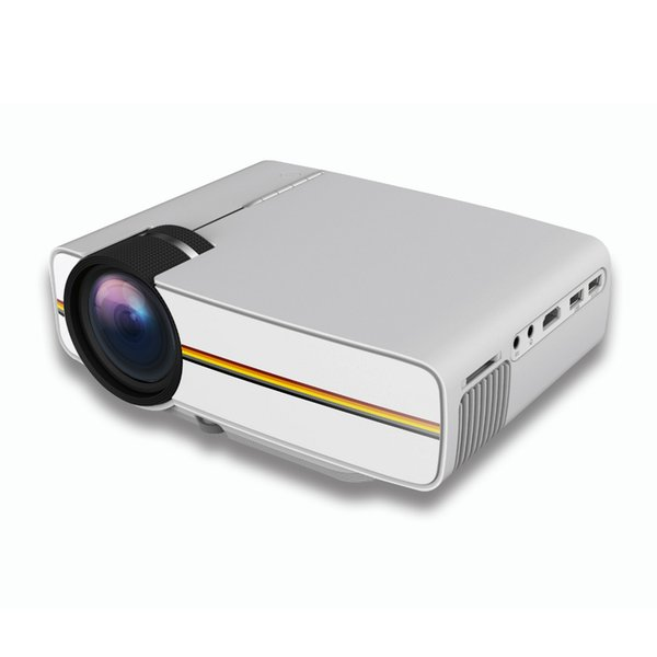 New YG400 Mini Projector Video LED Projector Home Theater Portable Proyector Cinema Beamer Video Game Projetor AC3 HDMI USB VGA
