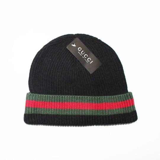 723f8ec48c2 Brand beanies Knitted Hat Designer Champion Winter Warm Thick Beanie Fedora  gorro Bonnet Skull Hats for