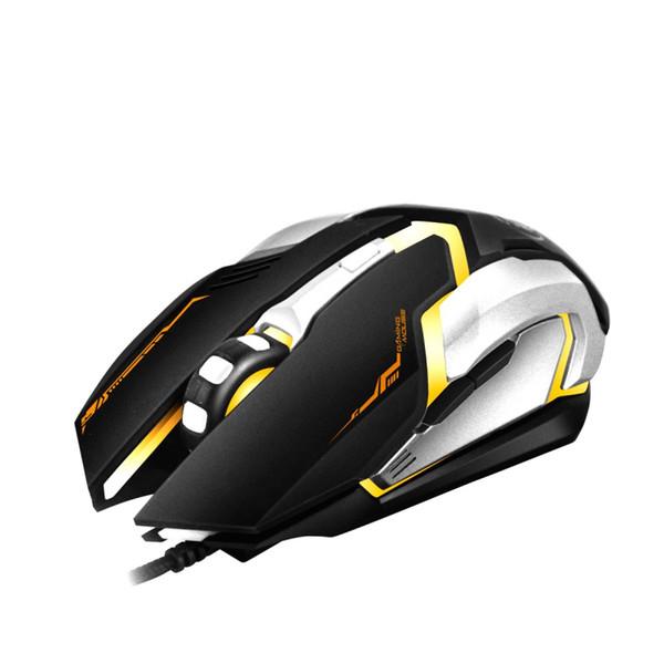 3200 DPI di alta qualità LED Optical 6D USB Wired Gaming Mouse professionale Mouse per mouse Gamer Mouse per PC portatile Notebook Gamer