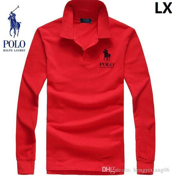 Polo per bambini Estate donne e uomini Tees manica lunga Tees misto cotone Casual bambini Polo Qualità migliore S-3XL Kids Polo Shirts lw42603