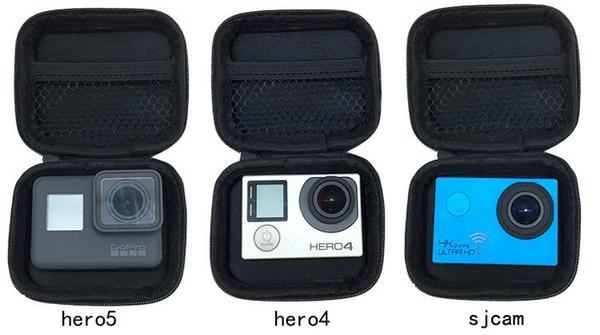 Portable Mini Box EVA Bag Case For Xiaomi Yi 4K Lite GoPro Hero 6 5 4 Black H9 Action Camera Case For Yi Go Pro Accessory