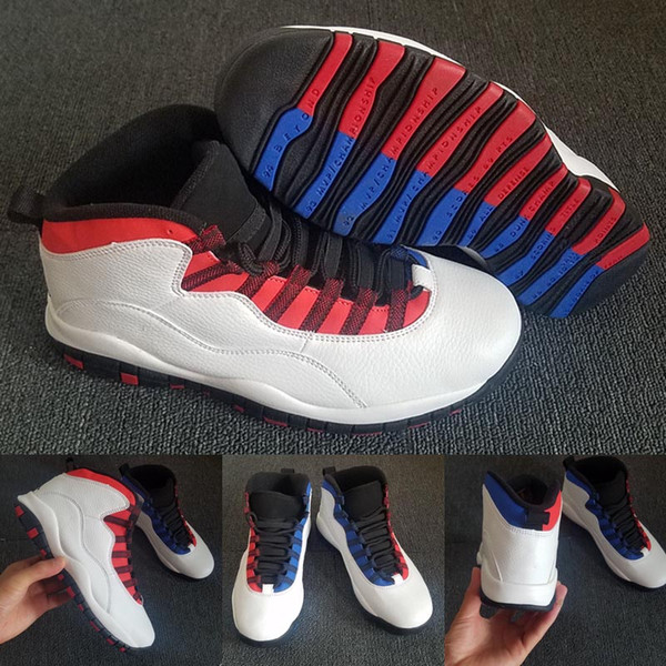 2019 New 10 What The Cool Grey Basketball Shoes 10s X Men Sports Shoes Mens Athletics Online Cheap Sale