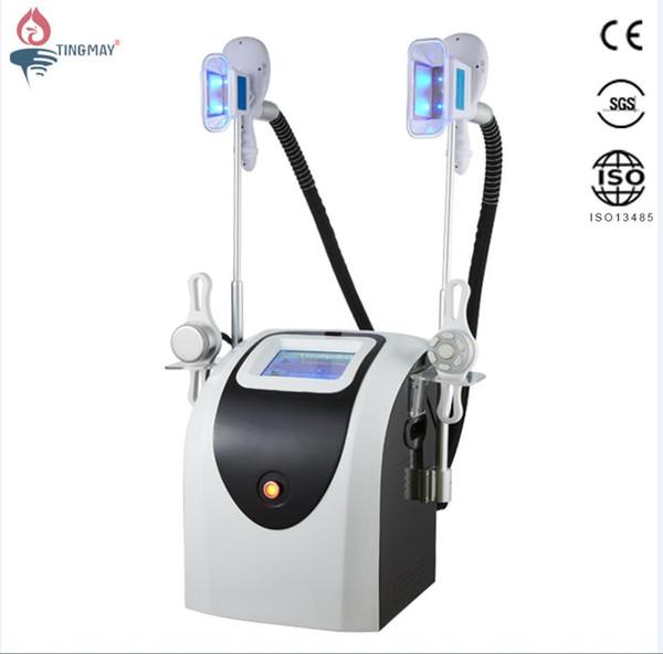 2019 Portable Slimming Machine Cool Sculpting Cryotherapy Cryo Lipolysis Ultrasound RF Liposuction Lipo Laser Machine Fat Freezing Machine