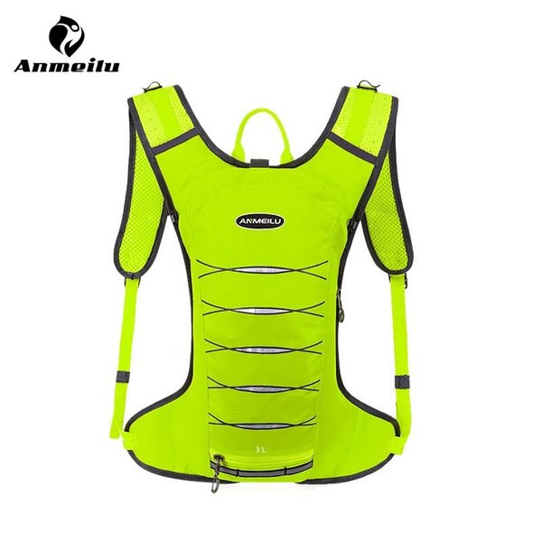 Anmeilu 3L Sport Running Bag Women Men Waterproof Hiking Cycling Camping Backpack Jogging Belt Waist Vest Pack Gym Accessories #86603
