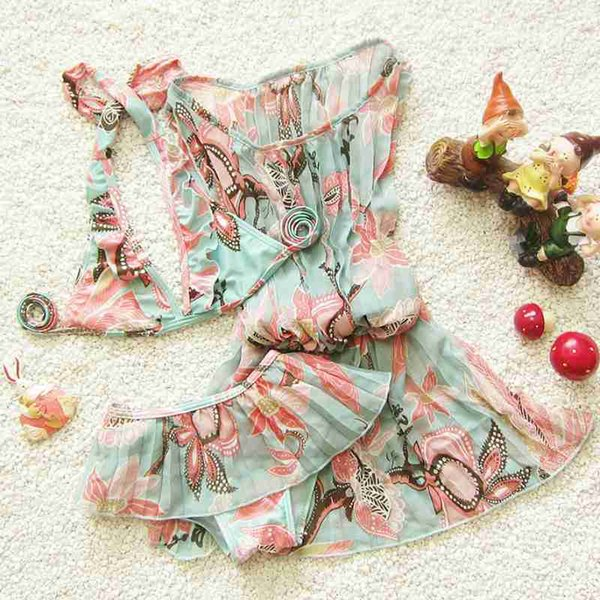 Badeanzugmädchen-Bikinibadebekleidung 2018 3pcs / set Bikinimädchenkindbaby-Badebekleidungsbadeanzug scherzt Badeanzug