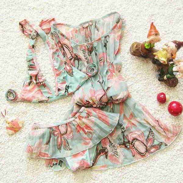 Costume da bagno bikini per bambina costume da bagno per bambini 2018 3 pezzi / set bikini per bambina costume da bagno per bambina costume da bagno costume da bagno per bambini