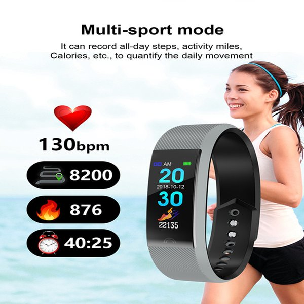 Hot sellSmart Wrist F6 Men Women Heart Rate Monitor Blood Pressure Fitness Tracker Smartwatch Sport Watch for ios android cellphones 1ps/lot
