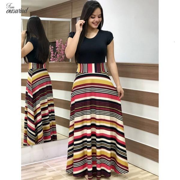 Herbst-Dame-Kleid-reizvolle plus Größen-Partei-Kleid dünne Kleider gedruckt Shortsleeved Langer Blumen-Tropfen-Versand Designerkleidung