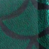 écaille de poisson vert