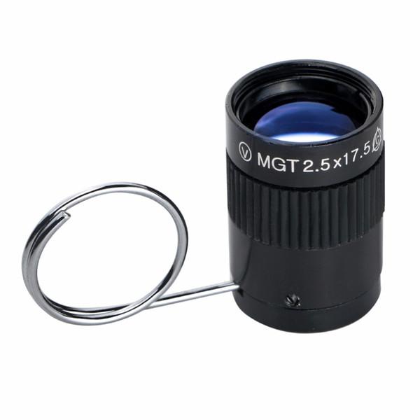 2.5x17.5mm Réglable Portable Monoculaire Télescope Optique Objectif Tourisme Chasse Camping Equipement Pouce Télescope Miniature Livraison Gratuite