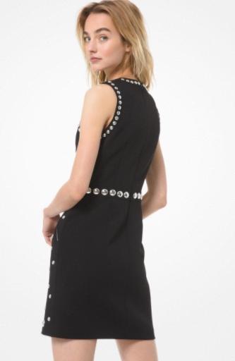 новыйМАЙКЛМАЙКЛ KORS женщины одевают стерео заклепок комплектаций тонкий Ледис подходит платье платье одежде MK1212 #
