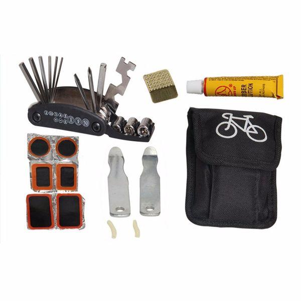 New Portable Wallet Cycling Bike Bicycle Tyre Repair Kit Tool Wallet Bag 3 color