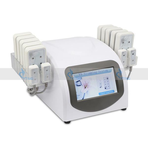 Best Price Lipo Laser Slimming Liposuction Lipolaser Machine 14 Pad Lipo Lasers LLLT Diode Cellulite Removal Fat Loss Home Salon Use Machine