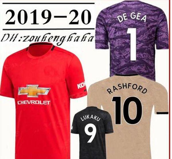 quality design 9a0c4 6ef84 2019 2019 2020 Man Utd POGBA Soccer Jersey 19 20 Manchester Home Away 3rd  MARTIAL LINGARD MATIC SMALLING RASHFORD Lukaku United Football Shirt From  ...