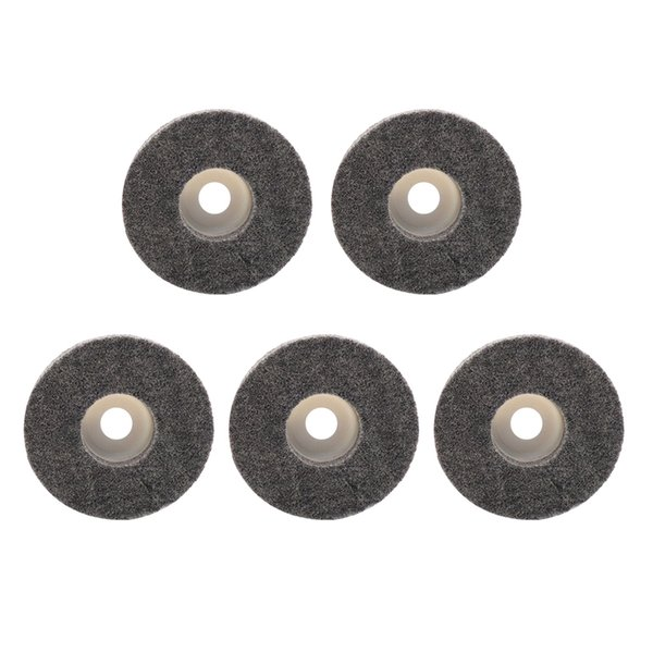 100mm 4 Inch Nylon Fiber Flap Wheel Disc Polishing Buffing Pad for Grinder 4Pcs