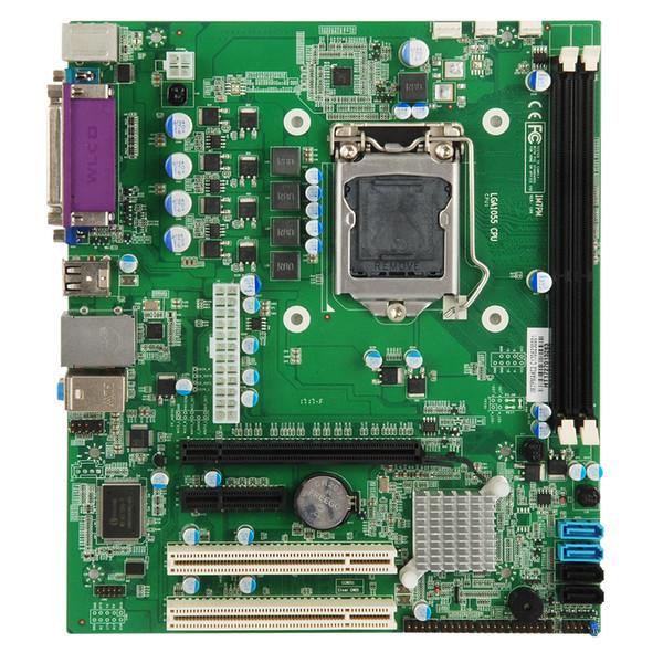 Computer Motherboard Intel H61 / Q77 / H77 / B75 Industrielles Motherboard Unterstützung für i3 / i5 / i7 / Pentium HASWELL LGA1155 CPU 2 * PCI 1 * PCIEX16 1 * PCIEX4 neu