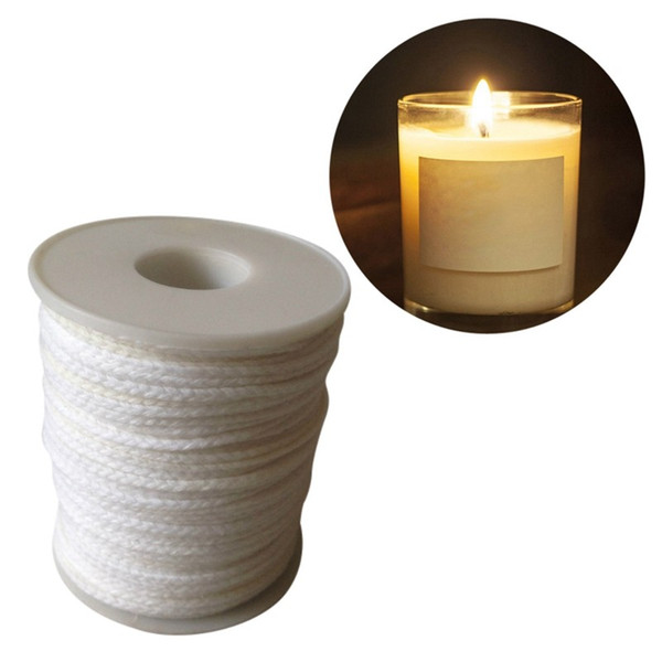 2 Spool Cotton Braid Candle Wicks Wick Core Tealight Candle Making Supplies