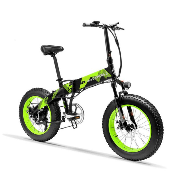 best selling Daibot Electric Scooter Adults Two Wheels Electric Bicycle 20 Inch Big Tire 500W Electric E Bike Scooter With Double Brake