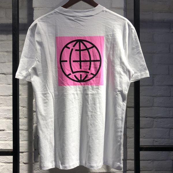 2019 Stampa terra rosa Gestione perduta Città Magliette Uomo Donna HIP-HOP Lost Management Città Top Tees Uomo LMC T-shirt