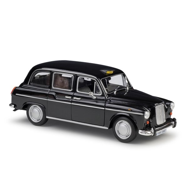 Welly Alloy Car Model Toys, Austin FX4, Lodon Taxi, Ford Police Car, 1:24 Scale, for Party Kid' Birthday' Gifts, Collecting, Home Decoration