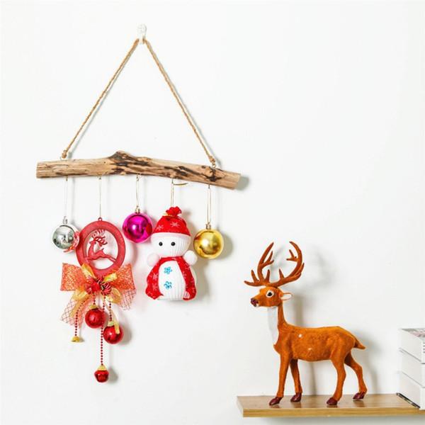 Driftwood Storage Hanging Rack Key Jewelry Door Hook Household Storage Hanging Rack Home Decoration Accessories Adornos Para
