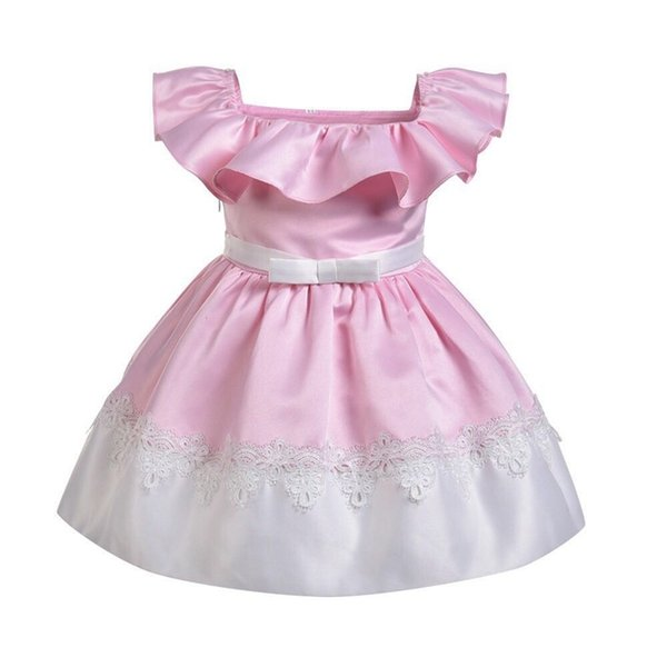 Teenage Girl Formal Dress New Summer Children Dresses For Girls Kids Formal Wear Clothes Birthday Party Events Prom Dress