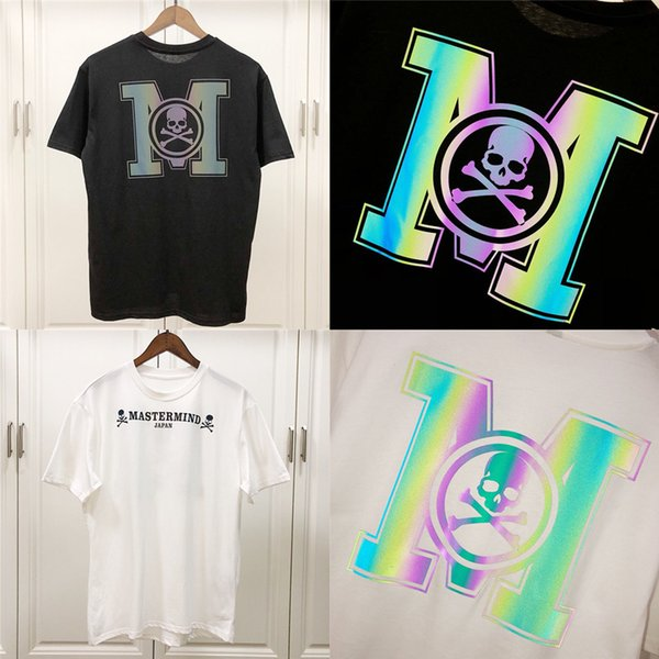 New Mastermind Japan 3m Reflective T Shirt Men Women 1:1 Best Quality Back Flash Tees