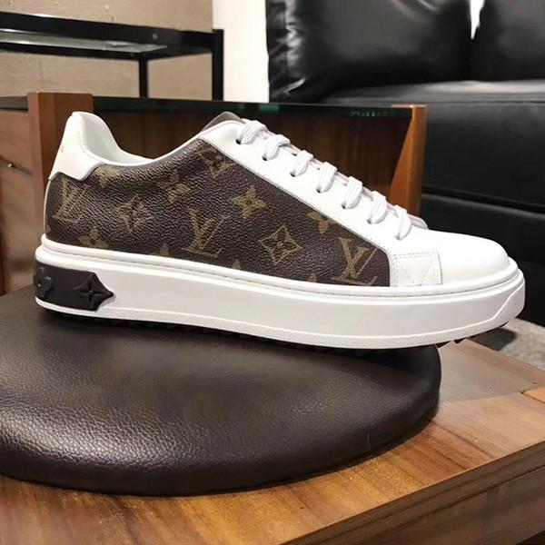 Sapatas Dos Homens de alta Qualidade Tênis Esportivos 2019 Moda Tamanho Grande Confortável Respirável Sapatilhas Formadores Beverly Hills Sapatilha M27 Homens Sapatos