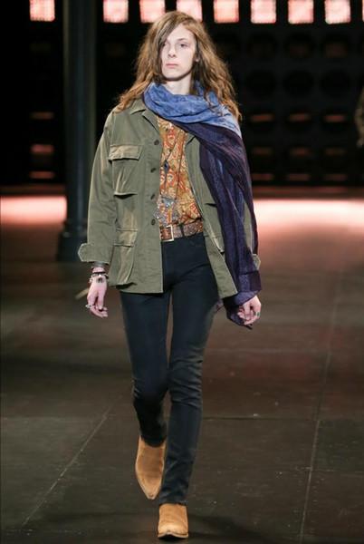 Hot Sale-2019 Людей Париж Lukas сапоги из натуральной кожи замши острого нос молнии Моды Показать сапоги качества обуви