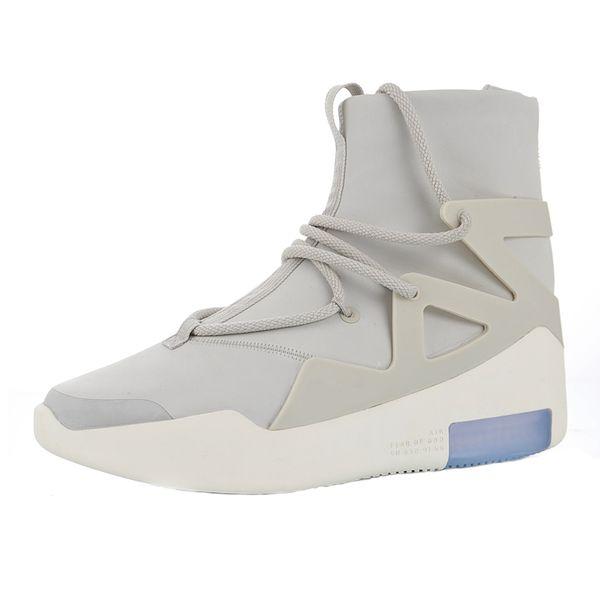 2018 Nouvelle Black Of Hommes Chaussures 2019 Fog Nike Air 1 Dieu Acheter Arrivée × De Basketball Light Fear Peur Bone God Bottes xrCBedWo