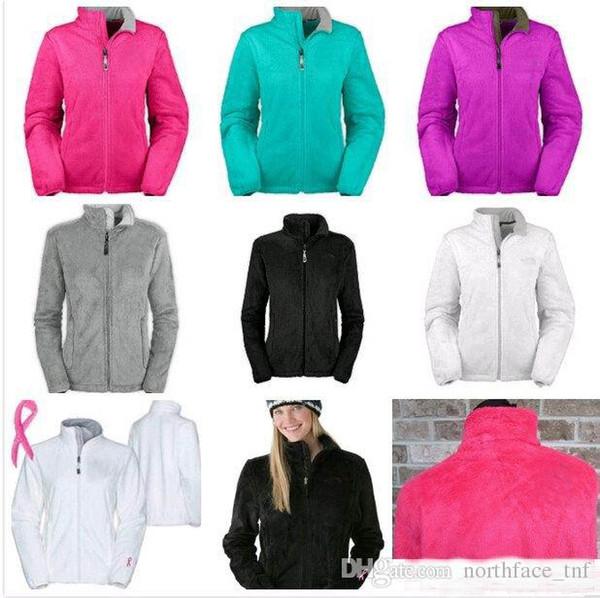 New Winter NF Womens Fleece Giacche Moda Morbida pile Warm Slim Coats Outdoor da donna Brand Mens Kids bomber Jacket Women Down Coat