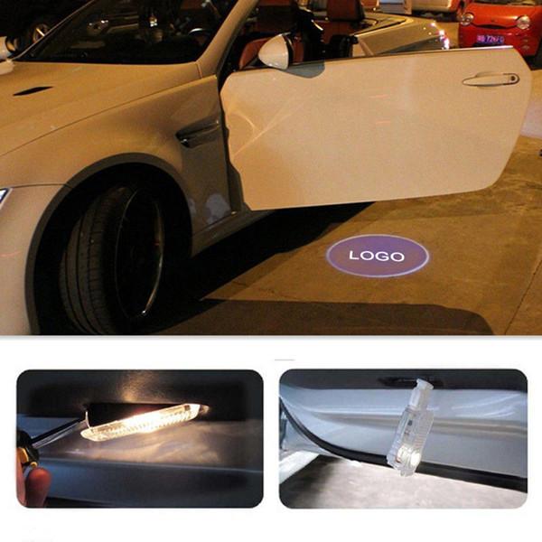 Carro accessor para bmw 12 v 5 w 2 pcs porta do carro levou bem-vindo laser projetor logotipo sombra fantasma luz de boas-vindas luz para bmw e90, e46, f11, e61, e60, f31