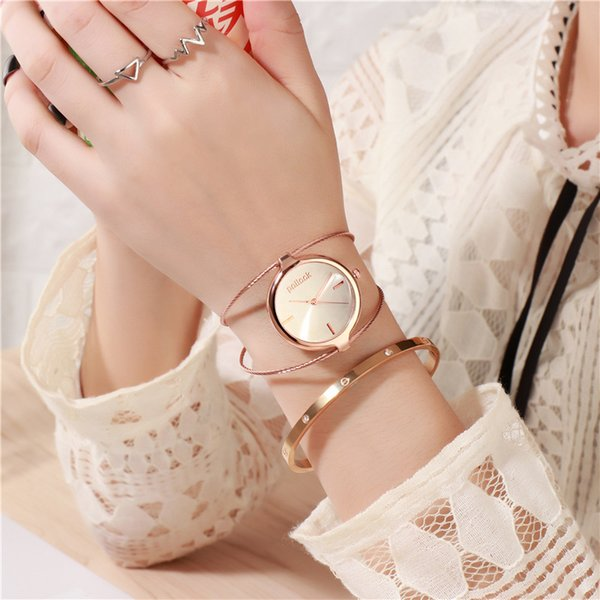 Top Brand Bracelet Watch Stainless Steel Age Girl Watch Carnival Hot Style Fashion Wristwatch Women Creative Popular Girl Clock
