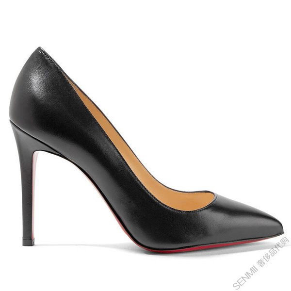 Red Bottom High Heels Pumps Round Pointed Toe So Kate Styles High Heels Dress Wedding Women Shoes 8/10/12CM 35-42