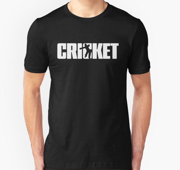 Tee shirt Homme Cricket pour Cricketer T-shirt Femme