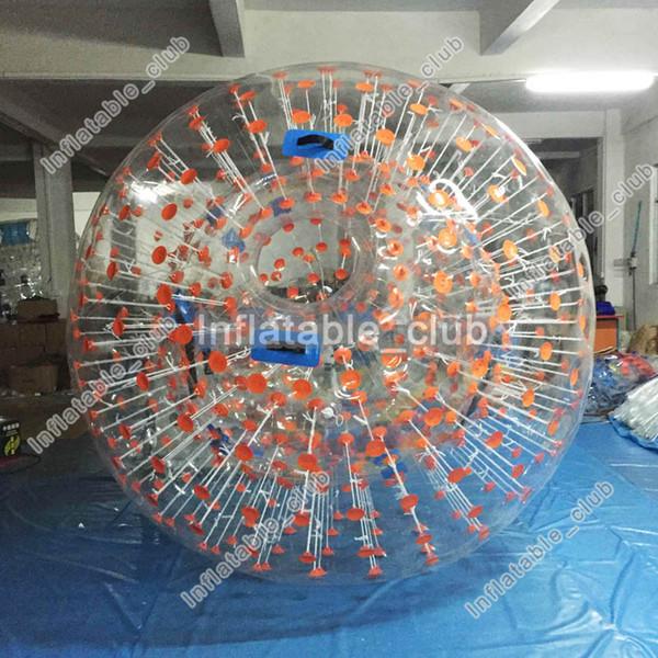 Orangefarbener Punkt 2,5 m Durchmesser