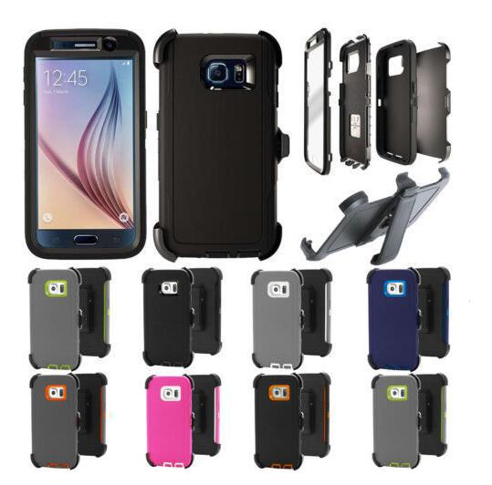 High Quality Crash-proof Hybrid defender Case For iPhone X XR XS Max 6 6s 8 7 Plus Case Samsung Note8 Note 9 S8 S9 Plus with clip holder