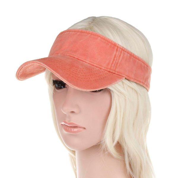 2019 Spring Summer Women's Sun Visor Hat Adjustable Wide Brim Visor Hat Fashion Casual Beach Caps for Women/Girls