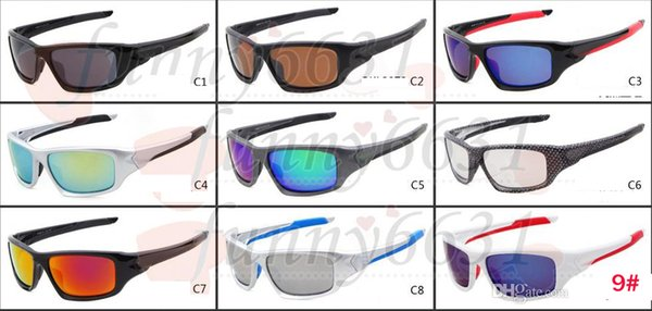 summer brand NEW man Bicycle Glass Sports Eyewear women's Cycling Sports Outdoor Sun Glasses Travel glasses A+++ 9colors free shipping