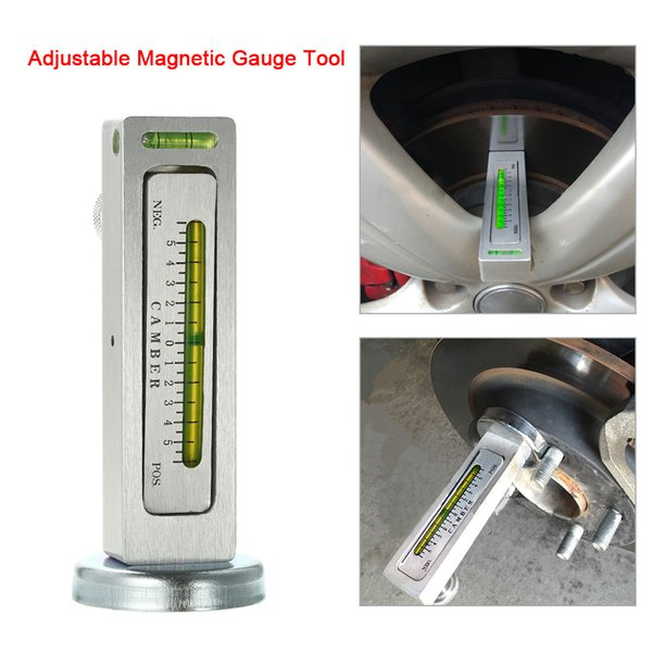 Universal Adjustable Magnetic Gauge Tool Camber Castor Strut Wheel Alignment Truck Car Camber Castor Strut Wheel Alignment Auto