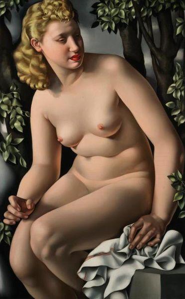 Тамара де Лемпицка обнаженная девушка -5 расписанную домашнего декора HD печать картина маслом на холсте стены искусства холст картины 191128