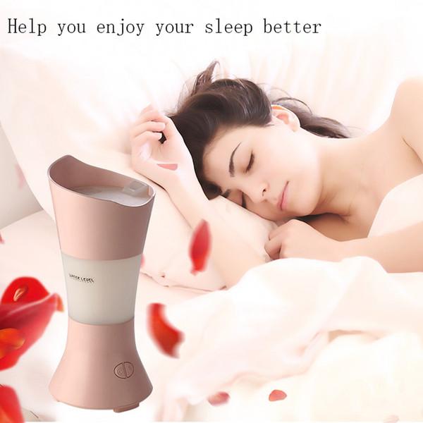 Humidificateur d'air USB Huiles Diffuseur de lampe aromatique Diffuseur d'arôme électrique Humidificateur décoratif Mist Maker Vase