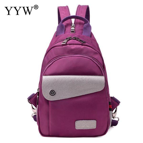 Bolsas escolares de diferentes colores Mochila coreana para niñas adolescentes Oxford impermeable barata-mochila 2018
